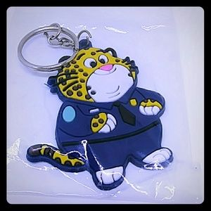 Disney Zootopia Officer Clawhauser Key Chain
